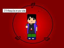 My crappy sasuke art (based on 101spong's skin :3) Minecraft Blog