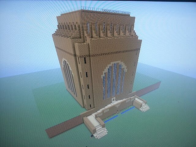 Die Voortrekker Monument South Africa Minecraft Project