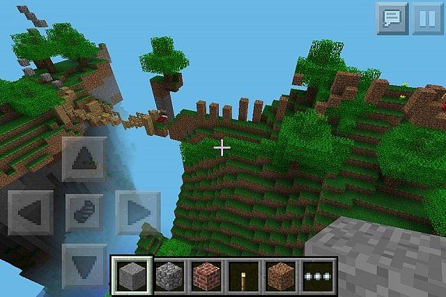 Minecraft pe parkour map minecraft project