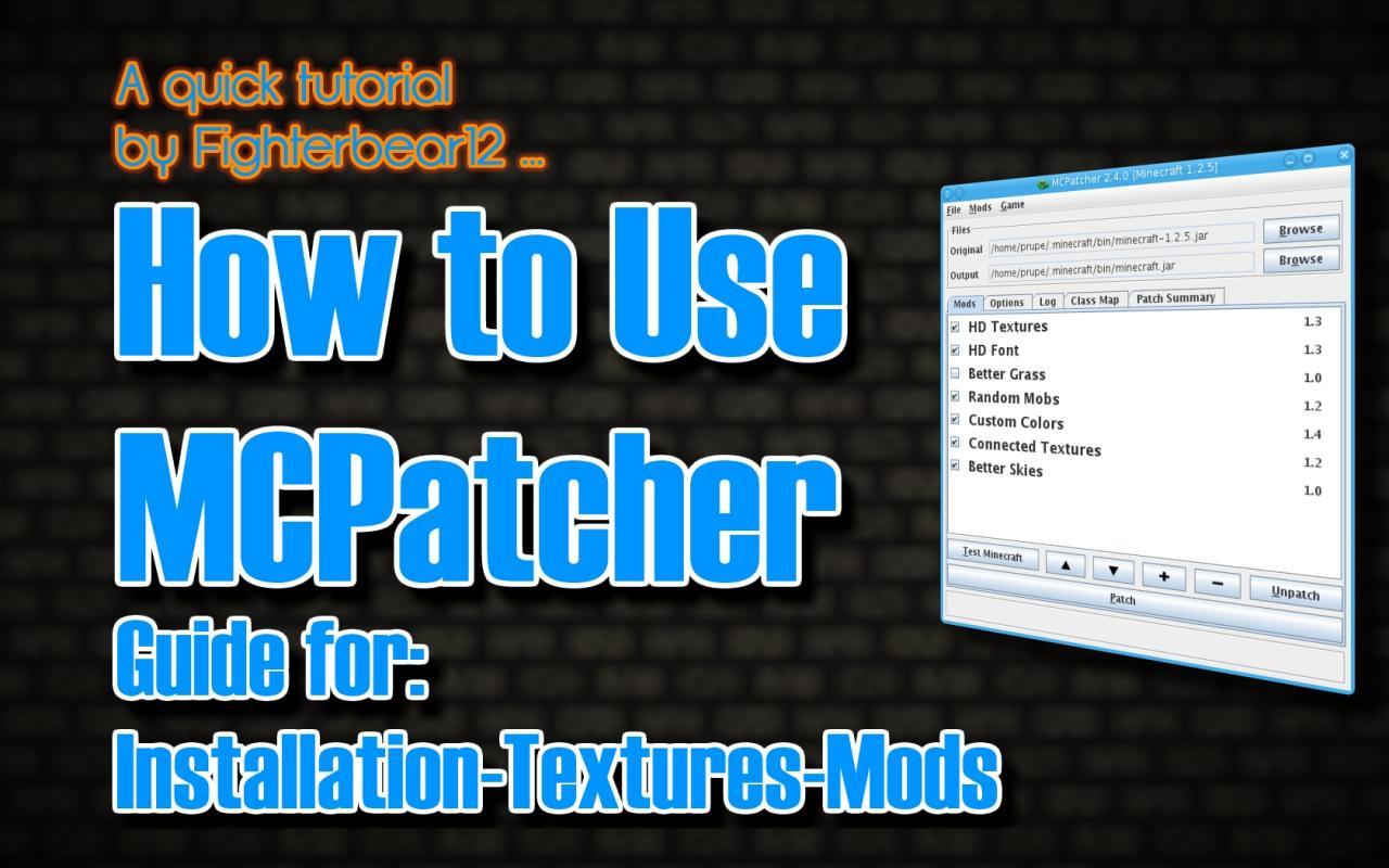 mcpatcher beta 1.7.3