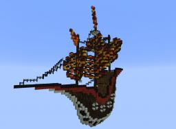 The Pariah|Medieval-Steampunk Airship|Dowload Minecraft Map & Project