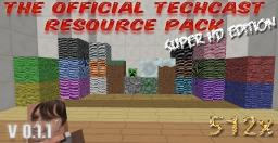 The Official TechCast Resource Pack Super HD Edition Minecraft Texture Pack