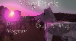Vogpack HD ResourcePack 1.6 64 x 64 Minecraft Texture Pack