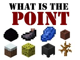 WHAT IS THE POINT!? Minecraft Blog