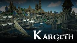 KARGETH (medieval city / world project) Minecraft