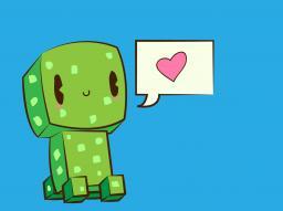 Cute Creeper Minecraft Blog