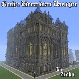 Gothic Edwardian Baroque Minecraft Map & Project