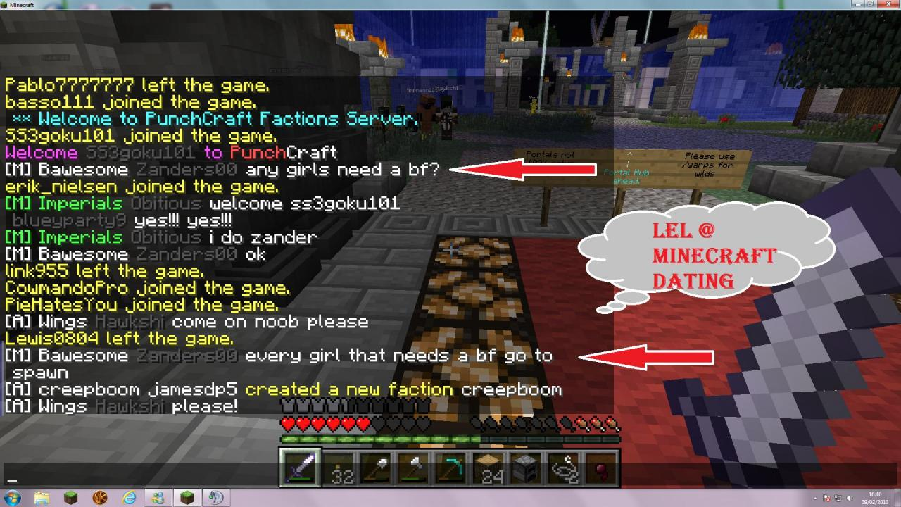 Minecraft Dating Server D  gutefragenet