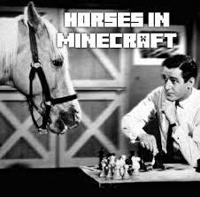 Minecraft 1.6 Horses! Minecraft Blog