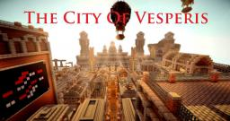The City Of Vesperis: a steampunk inspired minecraft city. Minecraft Map & Project
