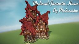 Medieval/Fantastic house + DOWNLOAD Minecraft Map & Project