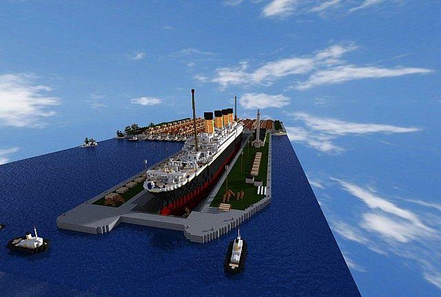 Titanic Hd Texture Pack Minecraft Project