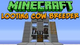 Minecraft: Looting Cow Breeder Tutorial Minecraft Project