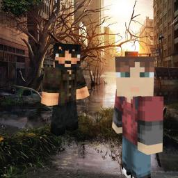 The Last Of Us skin collection Minecraft Blog Post