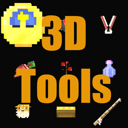 3D Tools And Items 1.16.X Minecraft Texture Pack