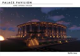 Palace Pavilion & Opera House Minecraft Map & Project