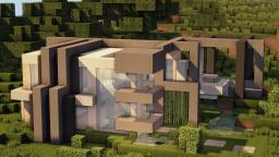 Modern House ~By:TheSkyRocket Minecraft Map & Project