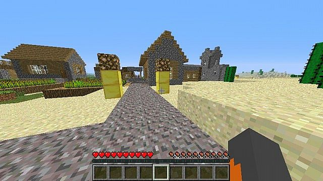 Epic Sprint Map 1 Minecraft Project