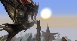 KnightShire - Fantasy City Minecraft Map & Project