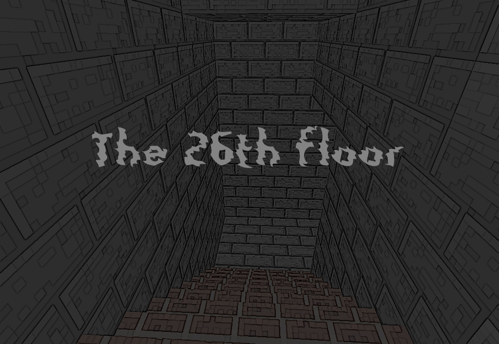 The 26th floor horror map for 1 6 1 minecraft project for 100 floors 26th floor