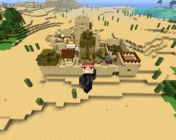 Pimped Sand Village. Minecraft Map & Project