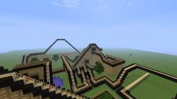 Roller Coaster W.I.P (World save coming soon) Minecraft