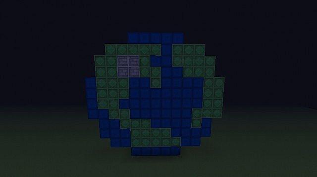 Planet Minecraft Icon (Pixel Art) Minecraft Project  Planet Minecraf...