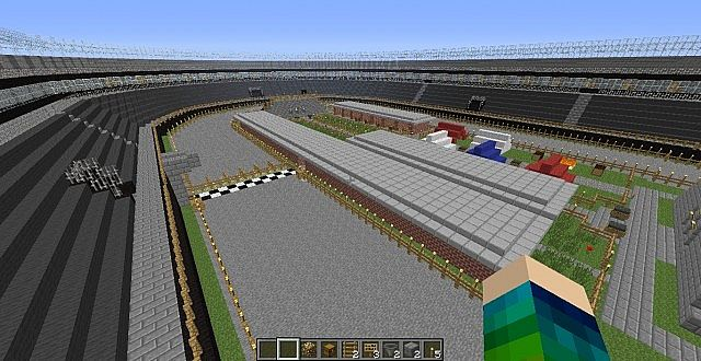 how to build a race track for horses