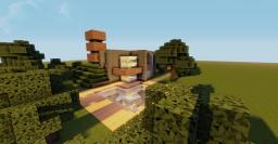 Nice And Modern House Minecraft Map & Project