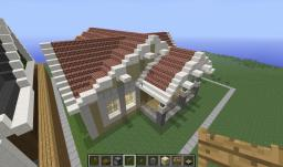 Lemon Cream House (Unfursnished) Minecraft Map & Project