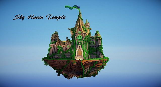 Sky Haven Temple Minecraft Project