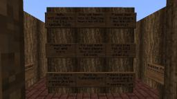 1.6.1 Help and Info Center Minecraft Map & Project