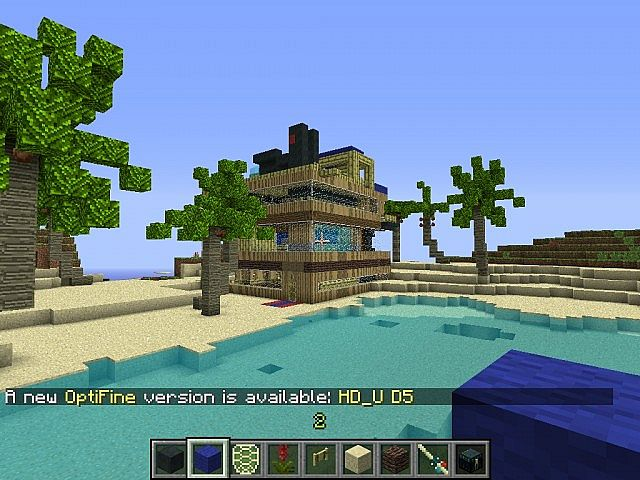 Tropicraft Starter House Minecraft Project