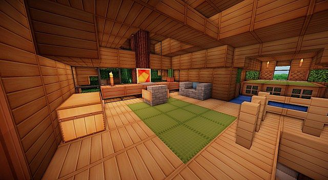 Survival House Minecraft Project