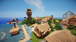 Medieval Town Minecraft Project