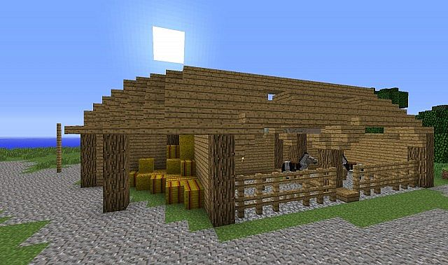Horse ranch ;). 100% Minecraft Project