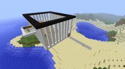 Modern villa (in progress) Minecraft Map & Project