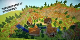 The Spawn Town Of Strong-Pine Minecraft Map & Project