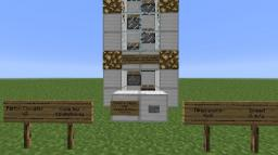 Piston Elevator V2.1 Minecraft Map & Project