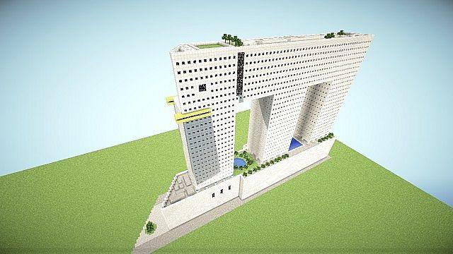 Elephant Building Minecraft Project