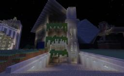 Modern Hollywood House Minecraft Map & Project