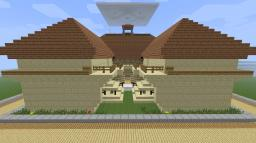 Sandstone House Minecraft Map & Project