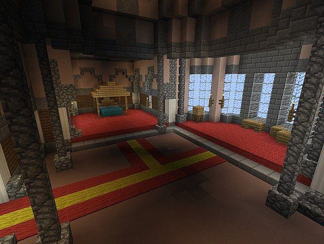 Rooms: Castle Fairfax Minecraft Project