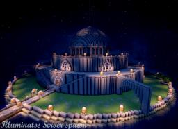 illuminatos library of enlightenment & server spawn Minecraft