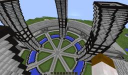 Futuristic spawn (contest entry) Minecraft Map & Project