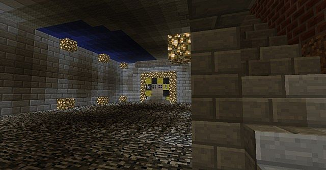 The Ghost Portal into the Nether down in the Lab.