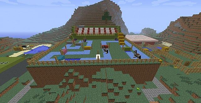 Horse Ranch Minecraft Project