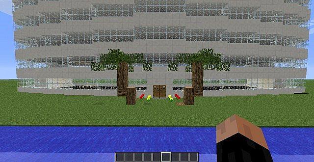 Modern Hotel Minecraft Project