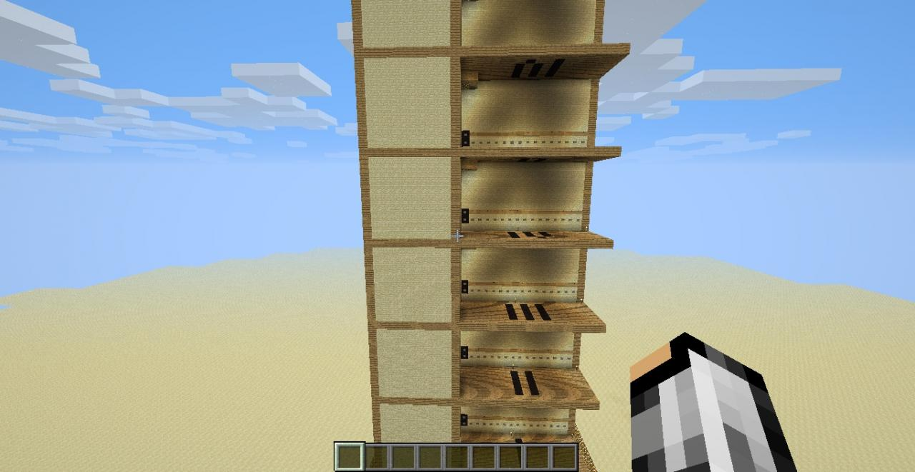 Multiple Floor Elevator For Mc Minecraft Project