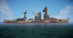 USS Texas [BB-35] Minecraft